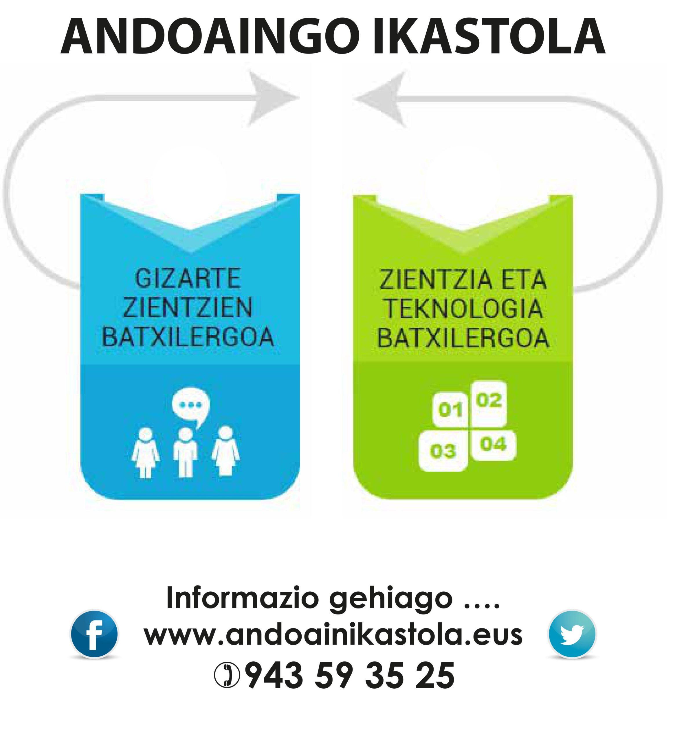 MATRIKULAZIOA BATXILERGOA 2020-21 (Maiatzak 4-22)